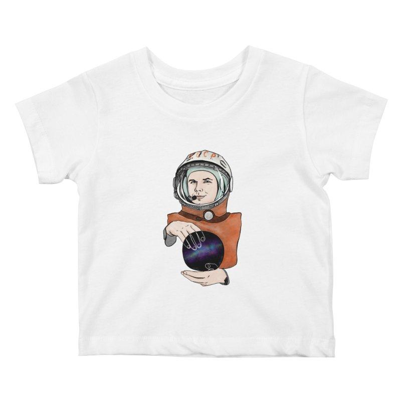 Yuri Gagarin. Space day. Kids Baby T-Shirt by selendripity's Artist Shop