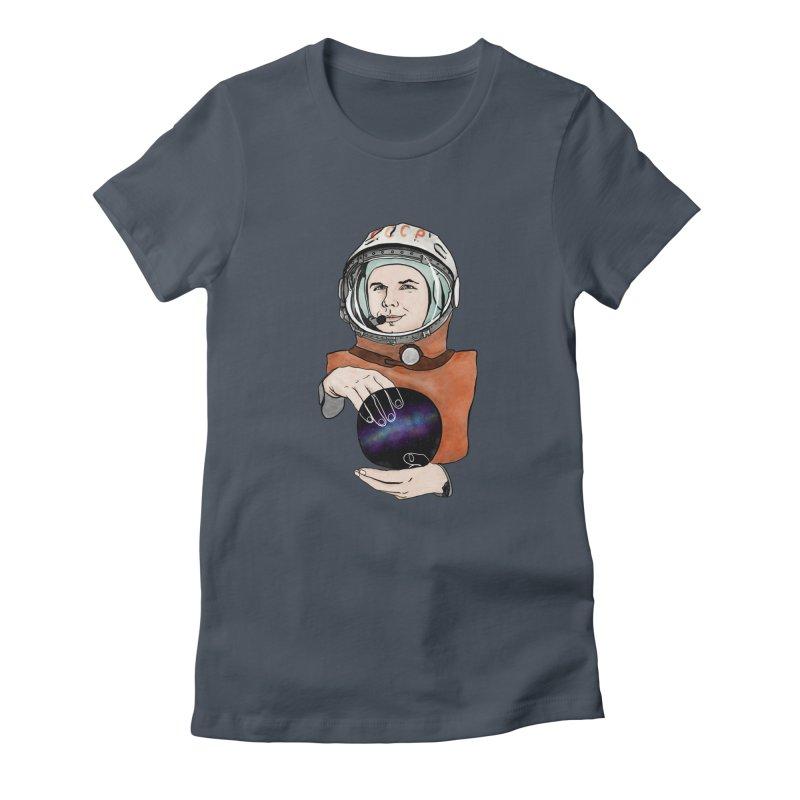 Yuri Gagarin. Space day. Women's T-Shirt by selendripity's Artist Shop