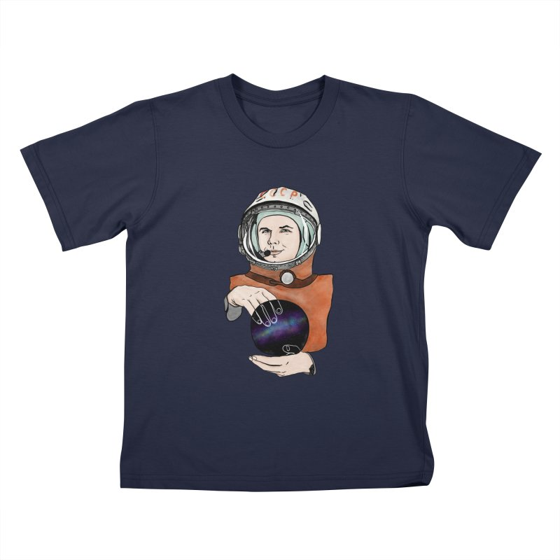 Yuri Gagarin. Space day. Kids T-Shirt by selendripity's Artist Shop