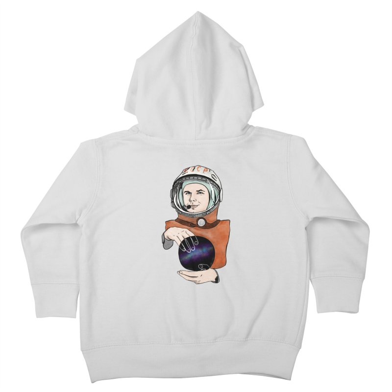 Yuri Gagarin. Space day. Kids Toddler Zip-Up Hoody by selendripity's Artist Shop