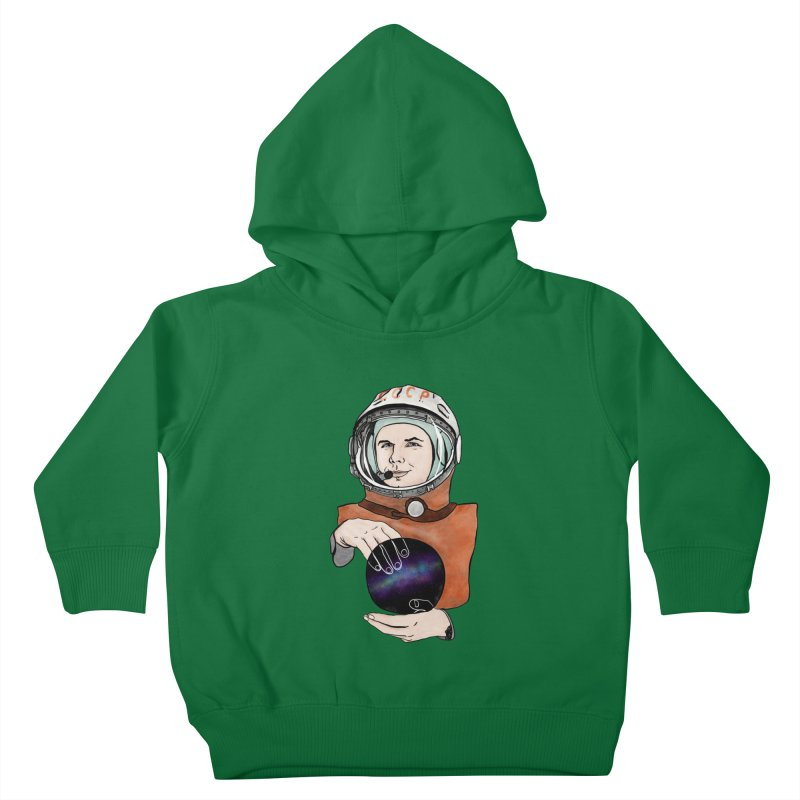 Yuri Gagarin. Space day. Kids Toddler Pullover Hoody by selendripity's Artist Shop