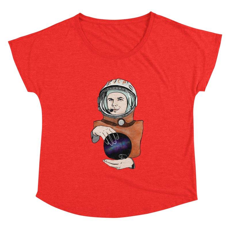 Yuri Gagarin. Space day. Women's Scoop Neck by selendripity's Artist Shop