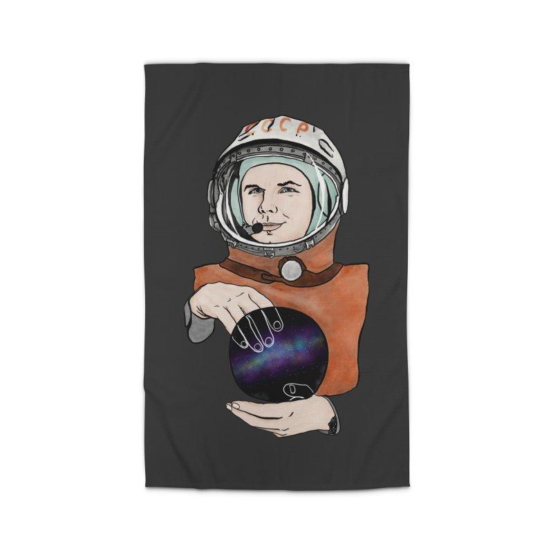 Yuri Gagarin. Space day. Home Rug by selendripity's Artist Shop