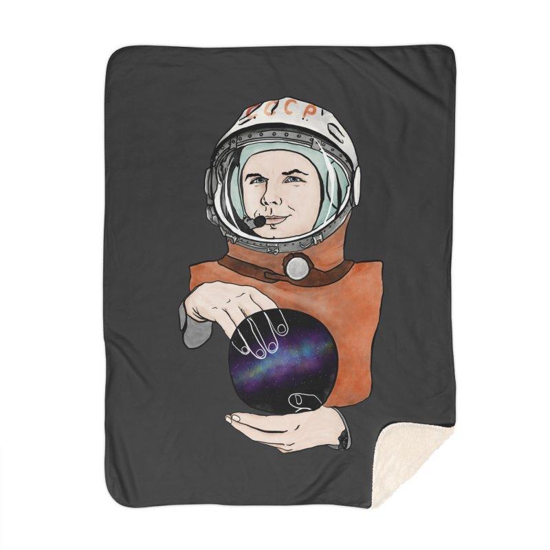 Yuri Gagarin. Space day. Home Blanket by selendripity's Artist Shop