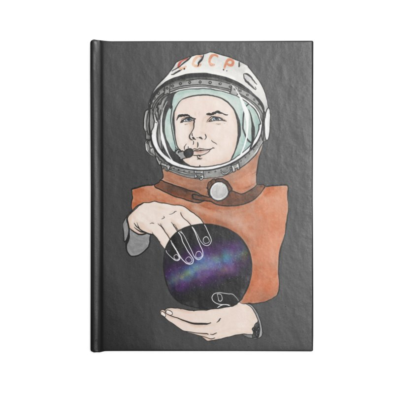 Yuri Gagarin. Space day. Accessories Blank Journal Notebook by selendripity's Artist Shop