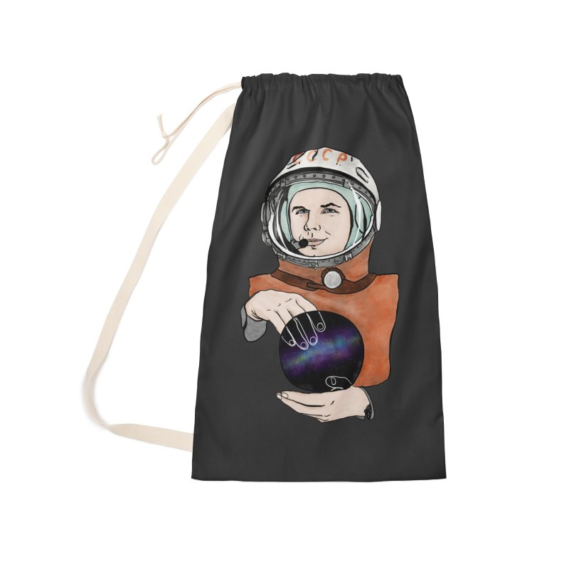 Yuri Gagarin. Space day. Accessories Laundry Bag Bag by selendripity's Artist Shop