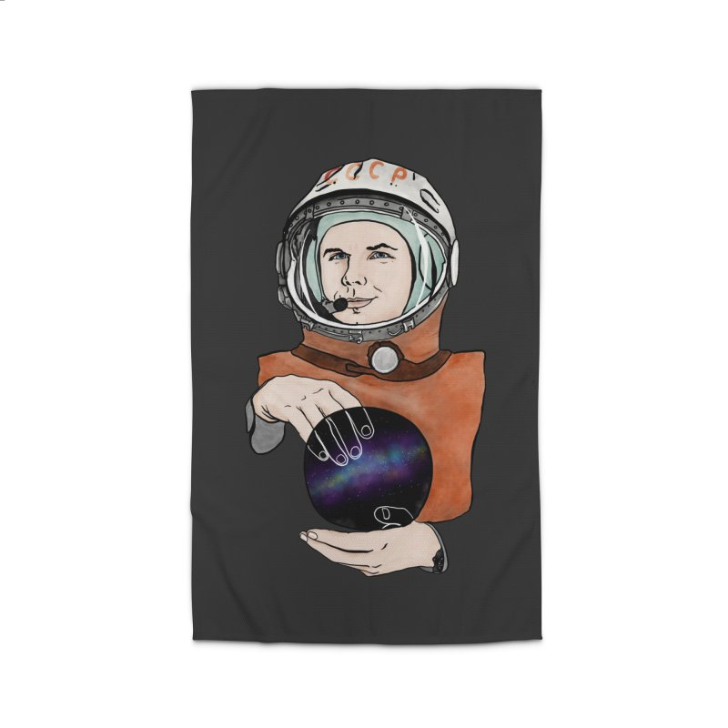 Yuri Gagarin. Space day. Home Rug by selendripity's Artist Shop