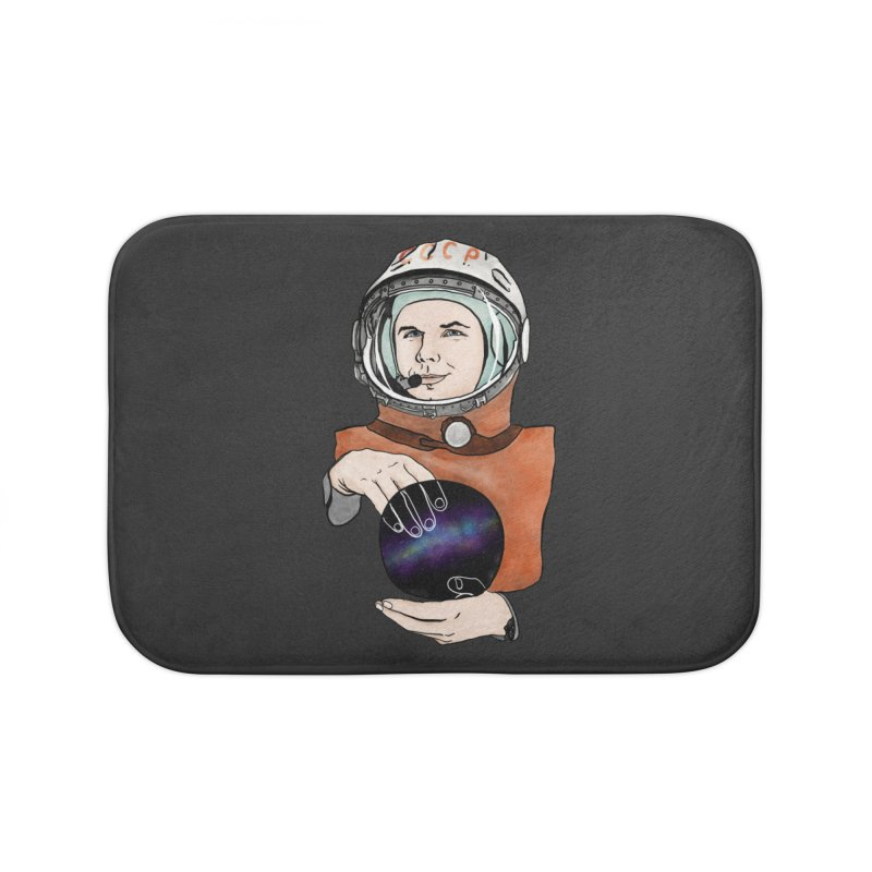 Yuri Gagarin. Space day. Home Bath Mat by selendripity's Artist Shop