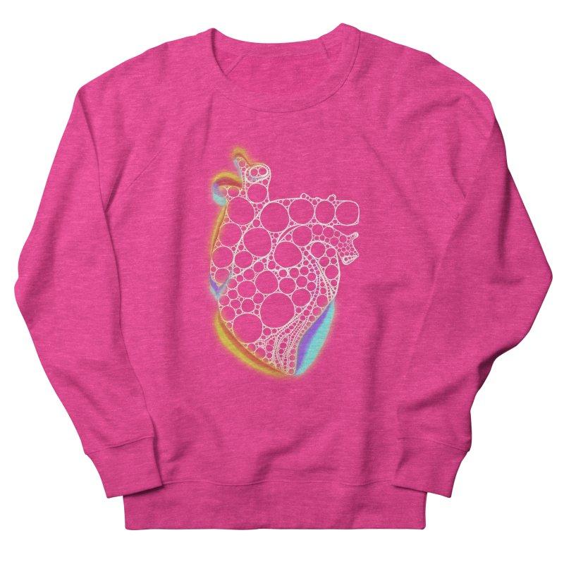 Fractal Heart with chromatic aberrations Women's Sweatshirt by selendripity's Artist Shop