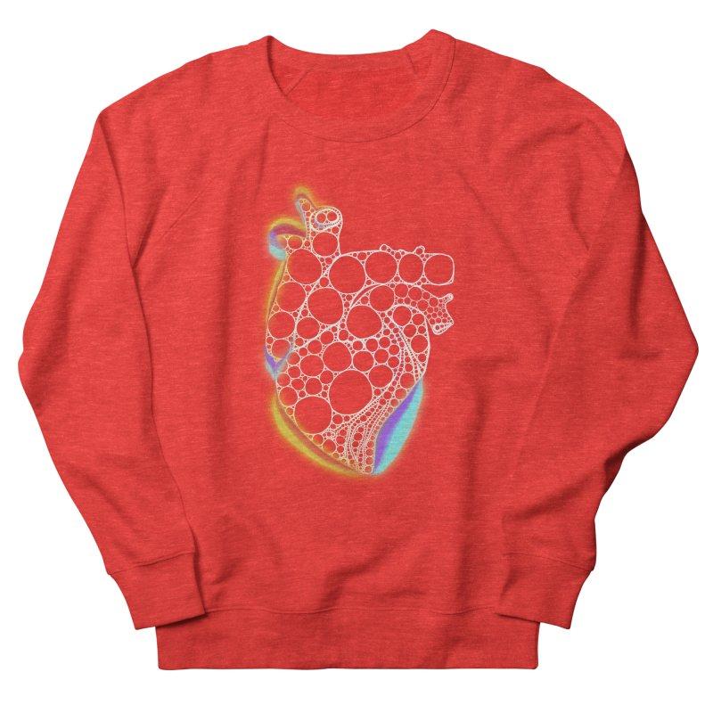 Fractal Heart with chromatic aberrations Men's Sweatshirt by selendripity's Artist Shop