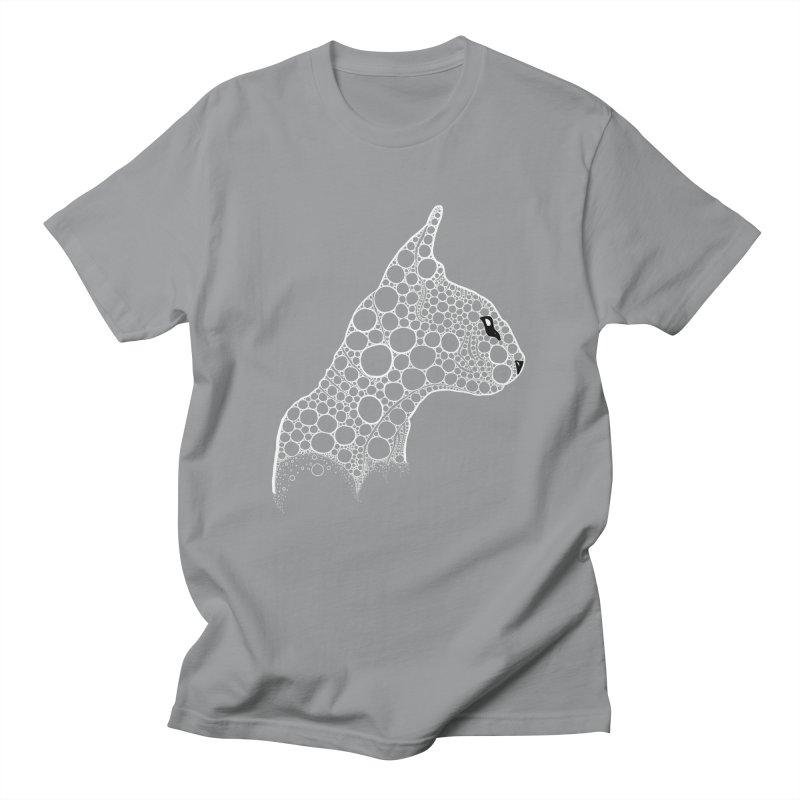White Fractal Sphynx Men's Regular T-Shirt by selendripity's Artist Shop
