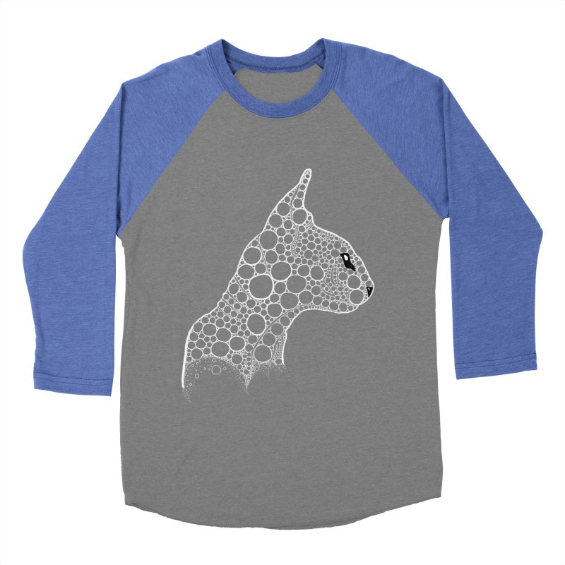 White Fractal Sphynx Women's Longsleeve T-Shirt by selendripity's Artist Shop