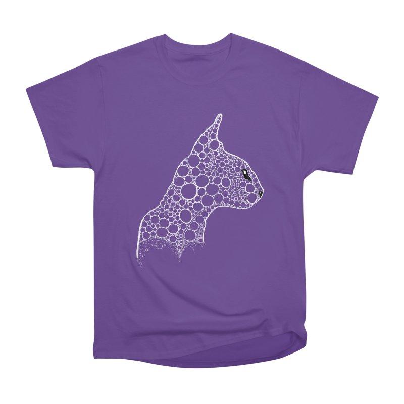 White Fractal Sphynx Women's Heavyweight Unisex T-Shirt by selendripity's Artist Shop
