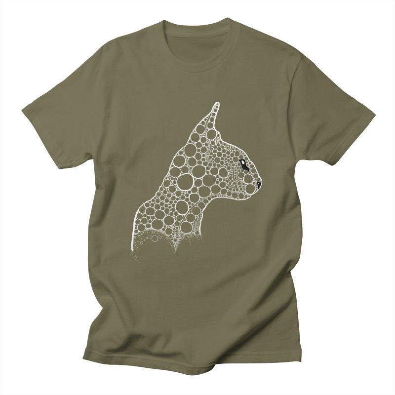 White Fractal Sphynx Men's T-Shirt by selendripity's Artist Shop