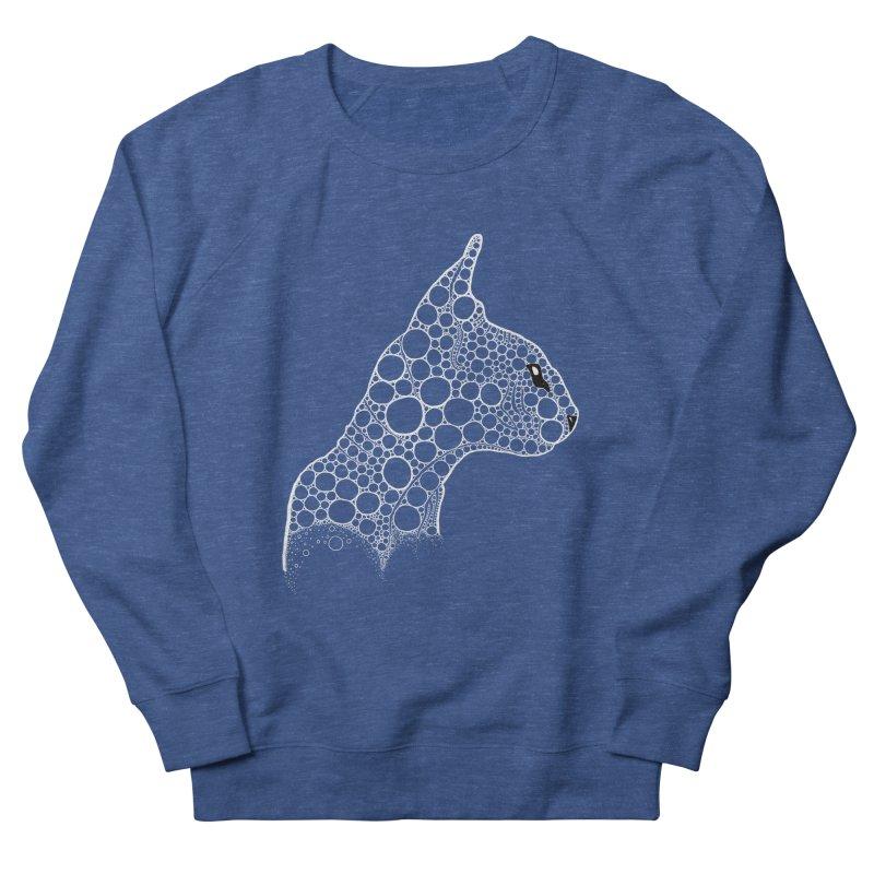 White Fractal Sphynx Women's Sweatshirt by selendripity's Artist Shop