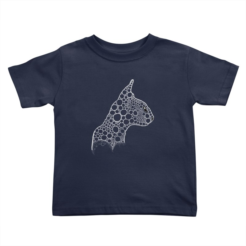 White Fractal Sphynx Kids Toddler T-Shirt by selendripity's Artist Shop