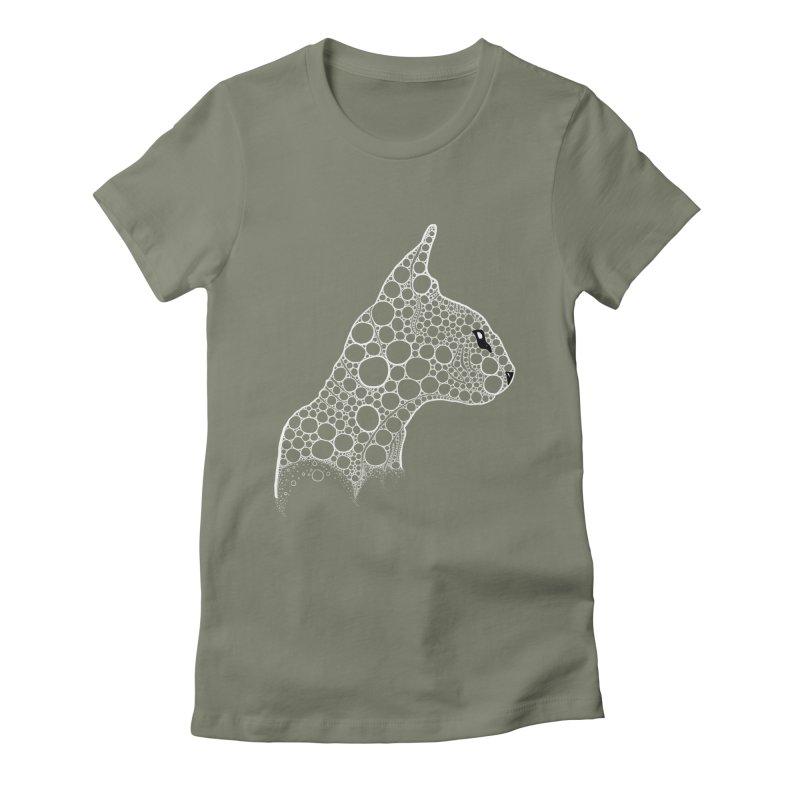 White Fractal Sphynx Women's T-Shirt by selendripity's Artist Shop