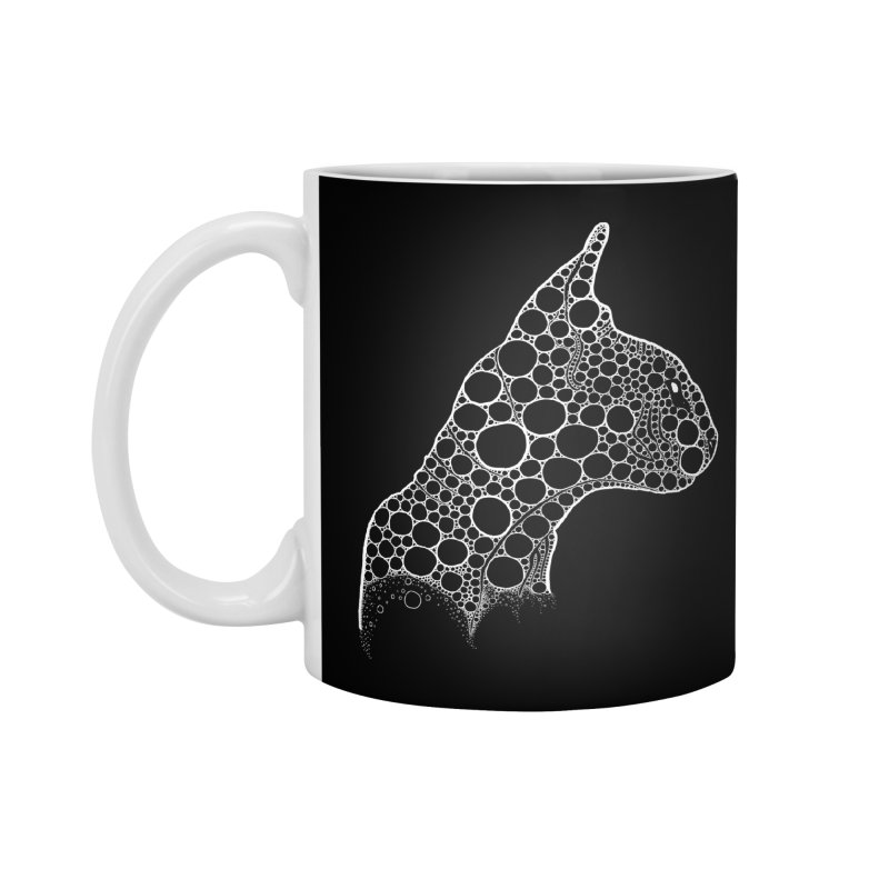 White Fractal Sphynx Accessories Standard Mug by selendripity's Artist Shop