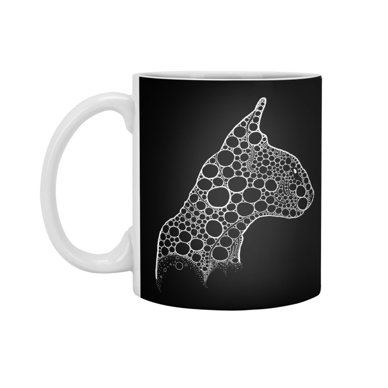 White Fractal Sphynx Accessories Mug by selendripity's Artist Shop
