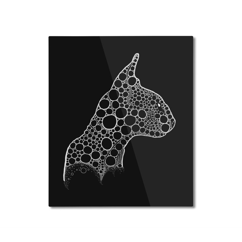 White Fractal Sphynx Home Mounted Aluminum Print by selendripity's Artist Shop