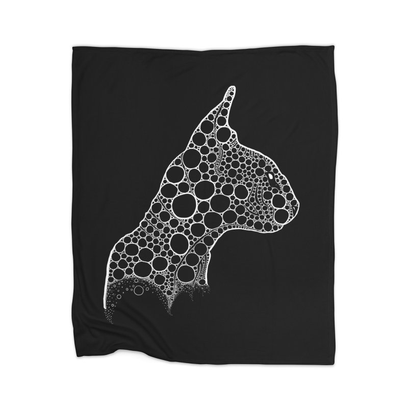 White Fractal Sphynx Home Blanket by selendripity's Artist Shop