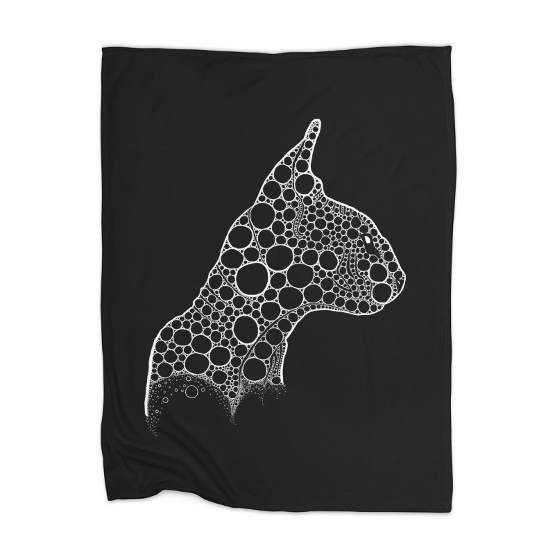 White Fractal Sphynx Home Blanket by selendripity's Artist Shop