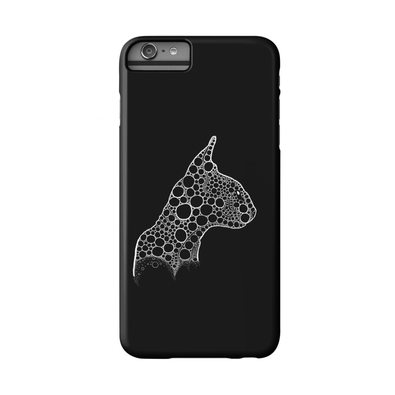White Fractal Sphynx Accessories Phone Case by selendripity's Artist Shop