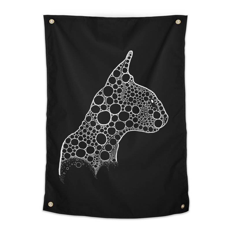 White Fractal Sphynx Home Tapestry by selendripity's Artist Shop
