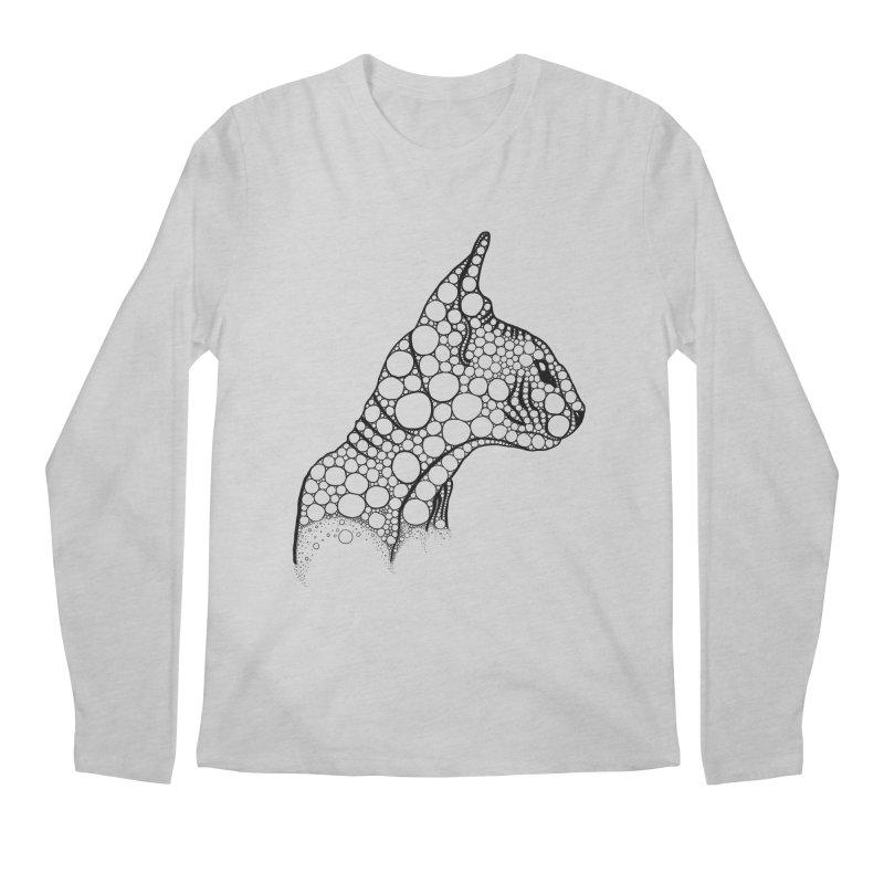 Black Fractal Sphynx Men's Longsleeve T-Shirt by selendripity's Artist Shop