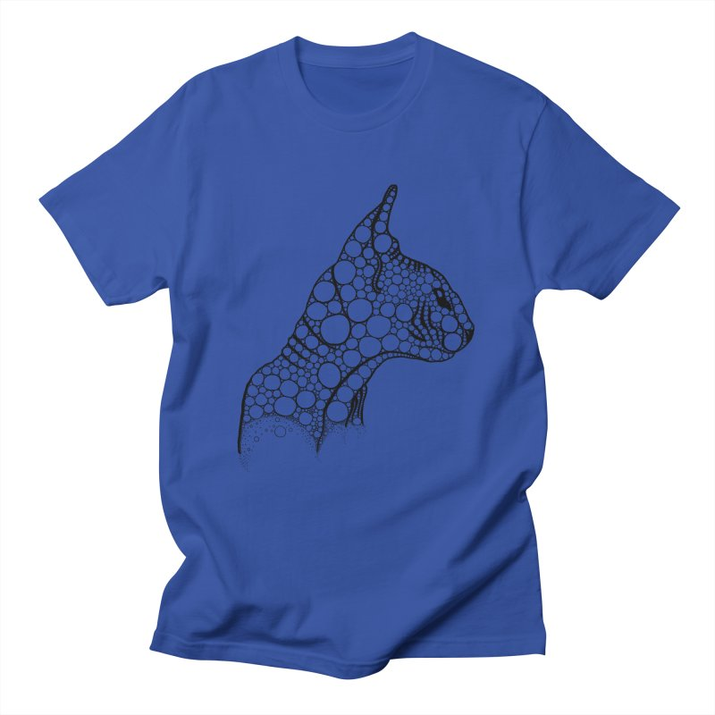 Black Fractal Sphynx Women's Regular Unisex T-Shirt by selendripity's Artist Shop