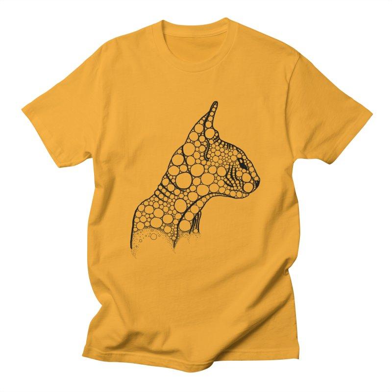 Black Fractal Sphynx Men's T-Shirt by selendripity's Artist Shop