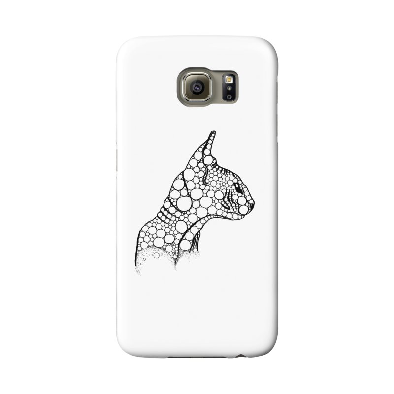Black Fractal Sphynx Accessories Phone Case by selendripity's Artist Shop