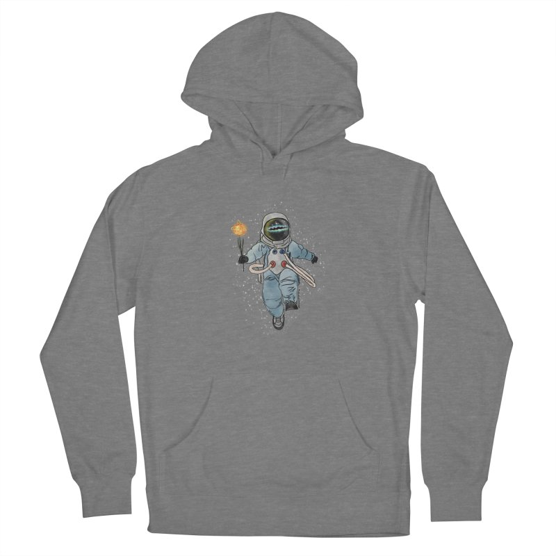 Spaceman with a Star Women's Pullover Hoody by selendripity's Artist Shop