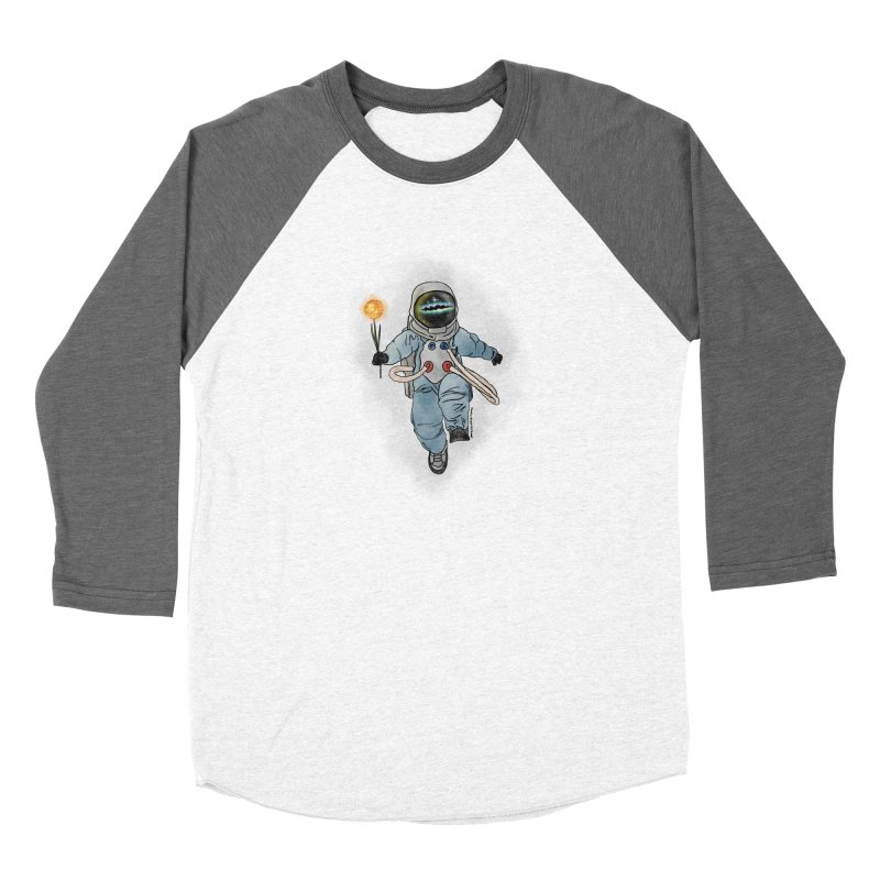 Spaceman with a Star Women's Longsleeve T-Shirt by selendripity's Artist Shop
