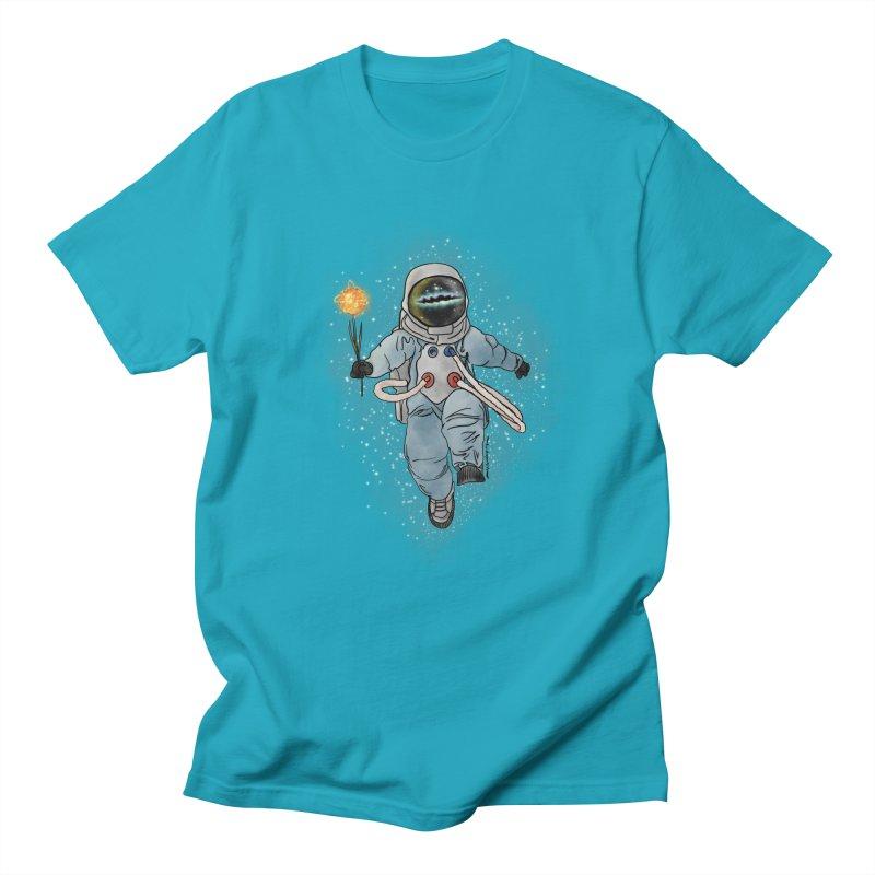Spaceman with a Star Women's Regular Unisex T-Shirt by selendripity's Artist Shop