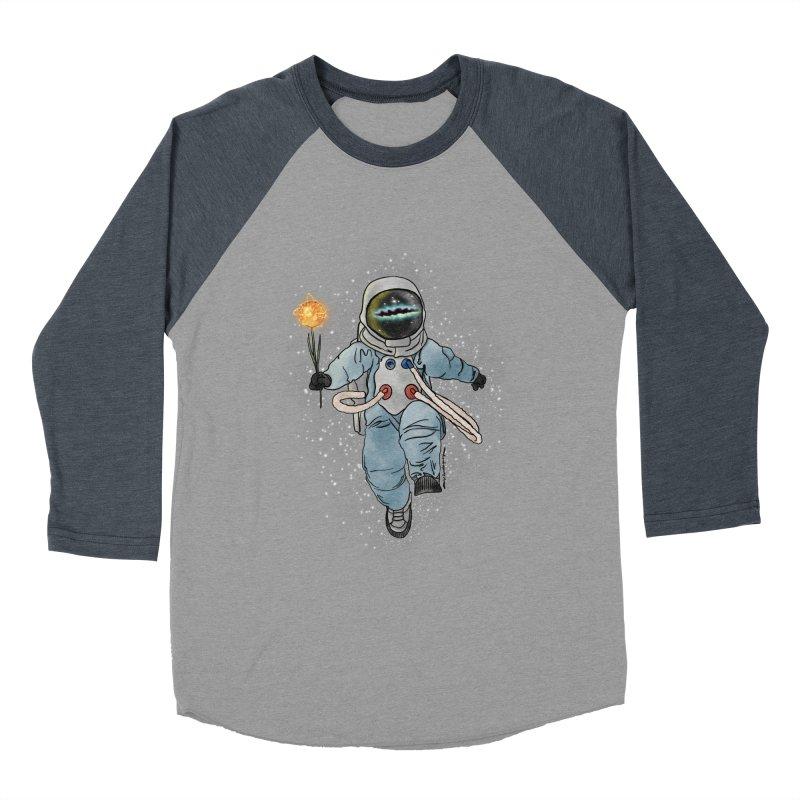Spaceman with a Star Women's Baseball Triblend Longsleeve T-Shirt by selendripity's Artist Shop