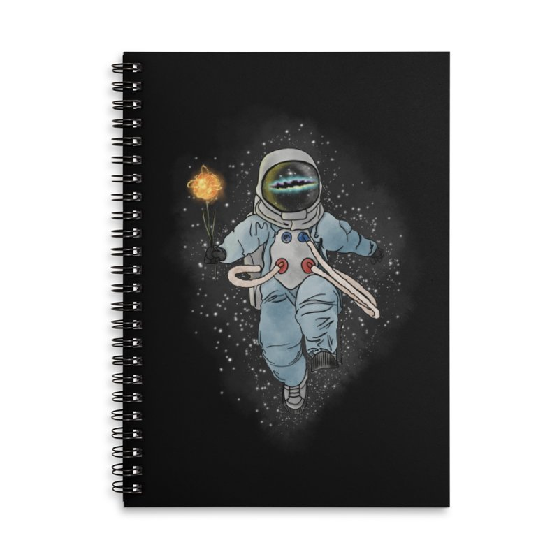 Spaceman with a Star Accessories Notebook by selendripity's Artist Shop