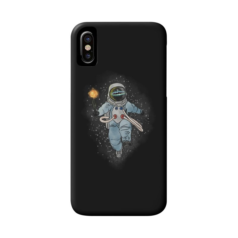 Spaceman with a Star Accessories Phone Case by selendripity's Artist Shop