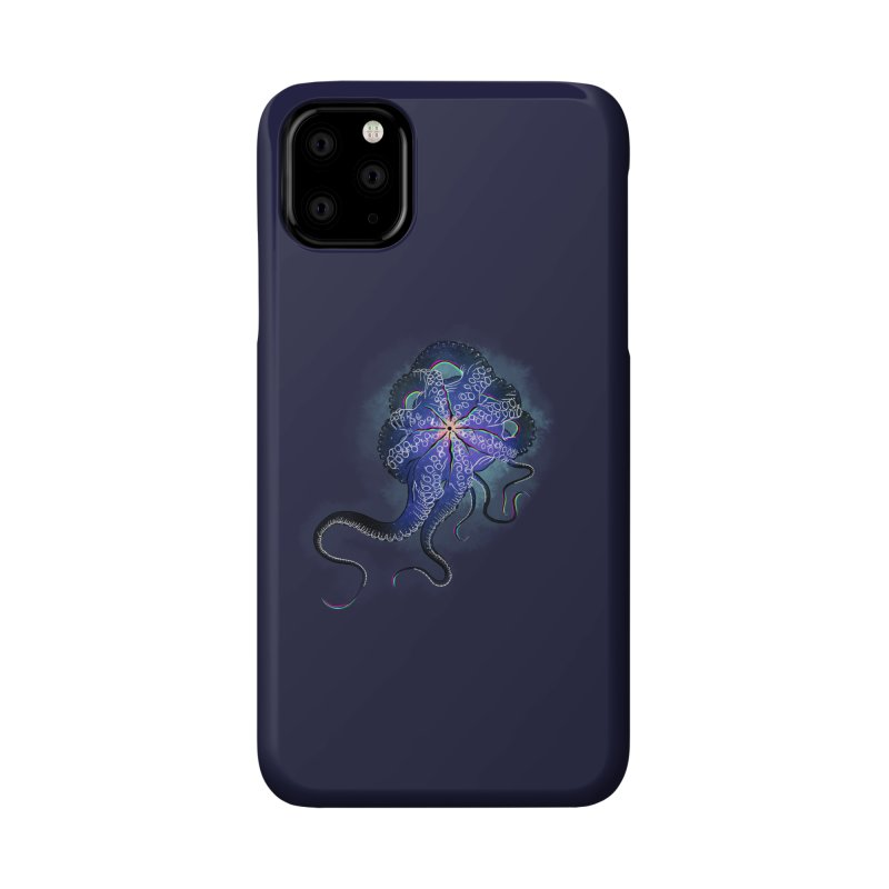 Octopus in lines with glitch effect Accessories Phone Case by selendripity's Artist Shop