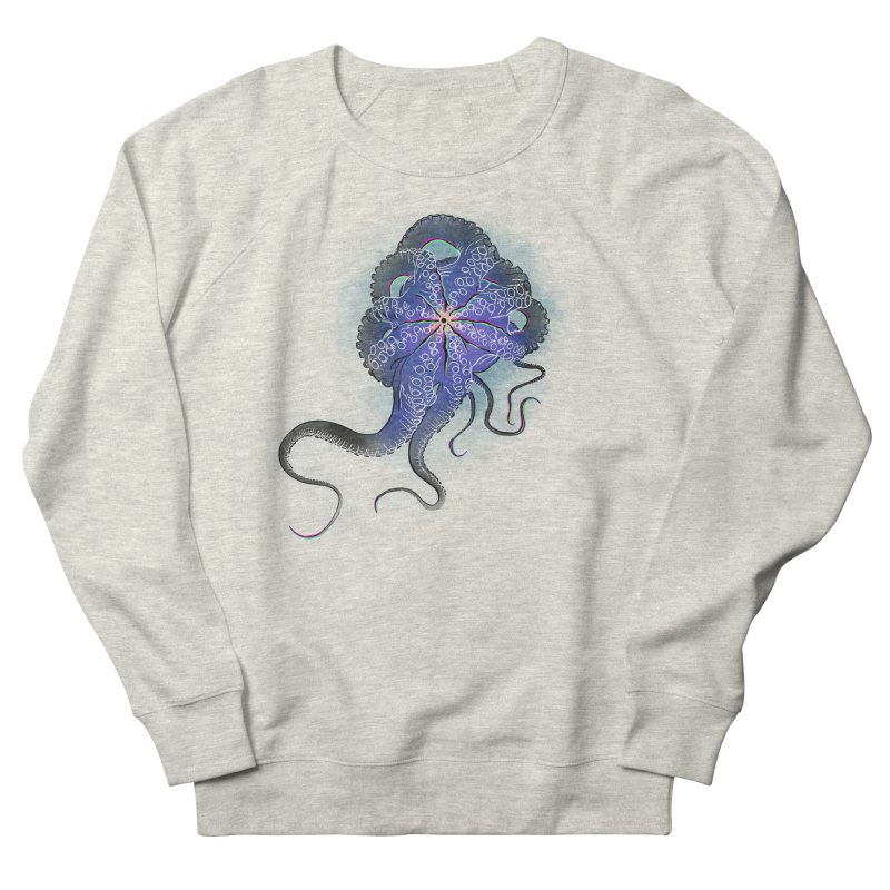 Octopus in lines with glitch effect Men's Sweatshirt by selendripity's Artist Shop
