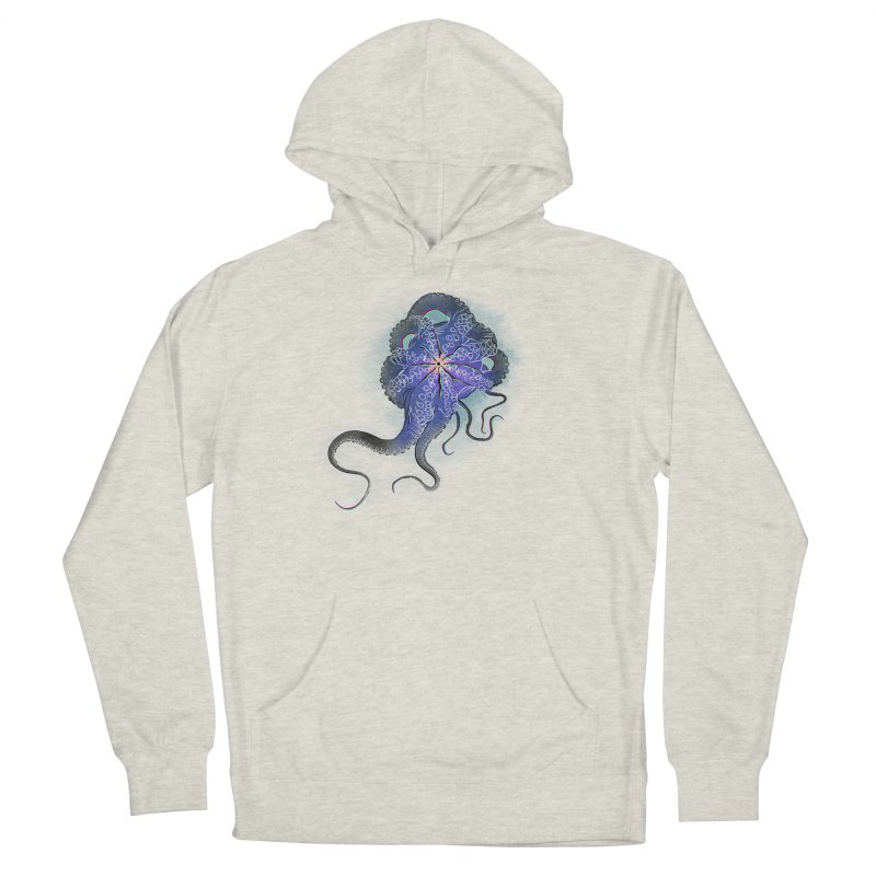 Octopus in lines with glitch effect Women's Pullover Hoody by selendripity's Artist Shop