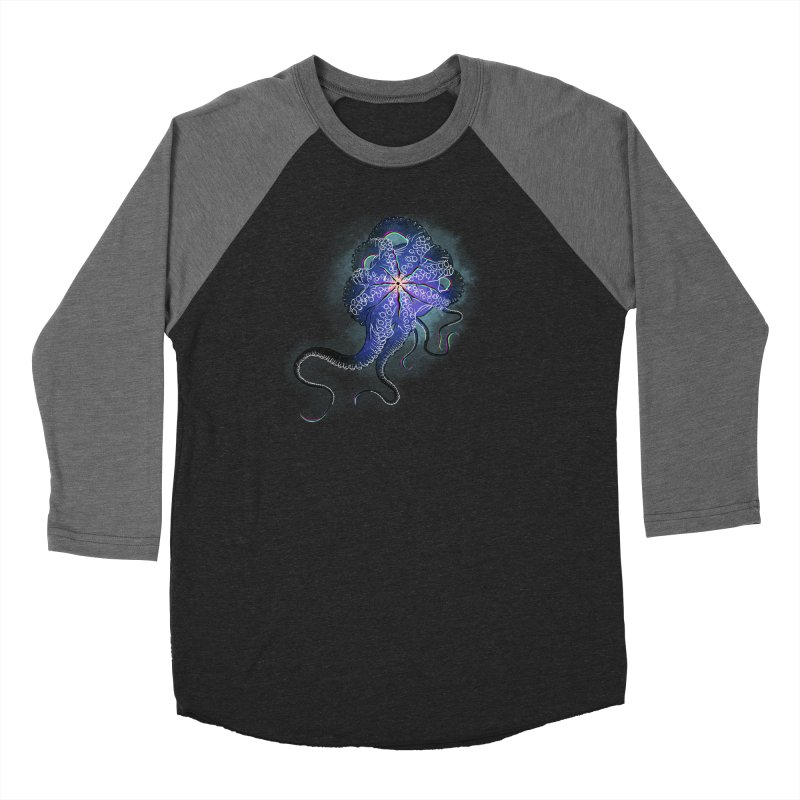 Octopus in lines with glitch effect Women's Longsleeve T-Shirt by selendripity's Artist Shop