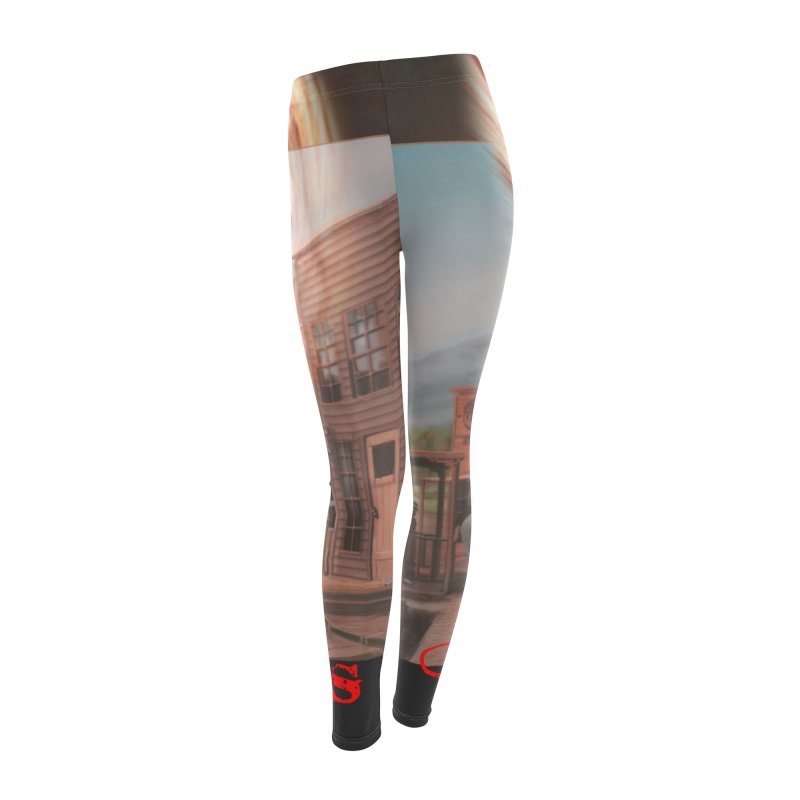 Blood-Lines Women's Leggings Bottoms by sellersjr's Artist Shop