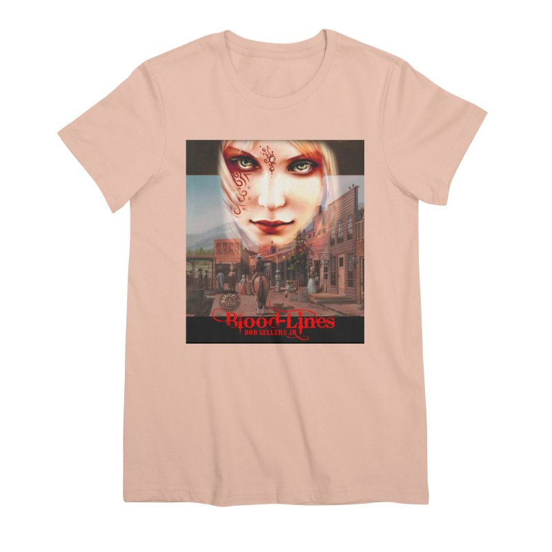Blood-Lines Women's Premium T-Shirt by sellersjr's Artist Shop