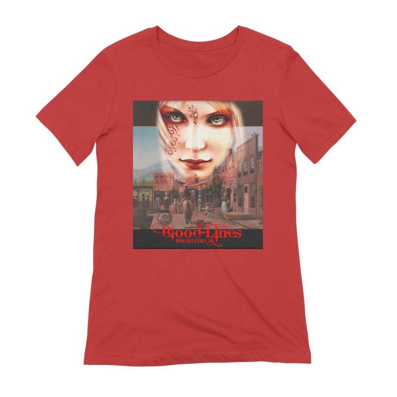 Blood-Lines Women's Extra Soft T-Shirt by sellersjr's Artist Shop