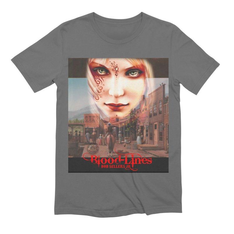 Blood-Lines Men's Extra Soft T-Shirt by sellersjr's Artist Shop