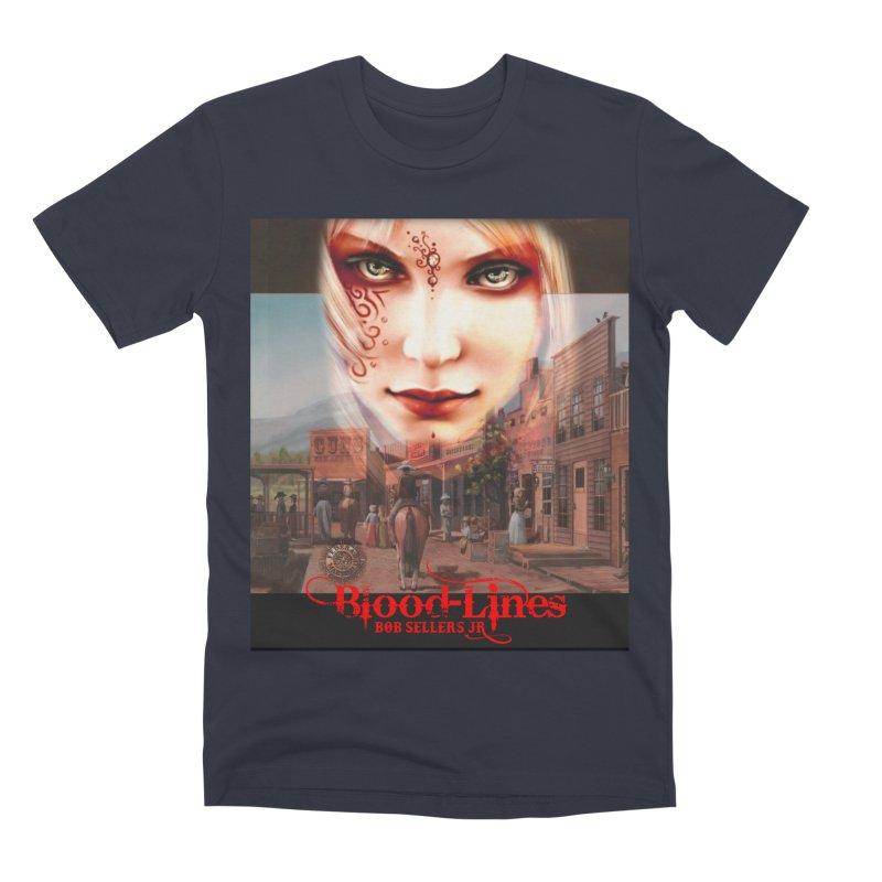 Blood-Lines Men's Premium T-Shirt by sellersjr's Artist Shop