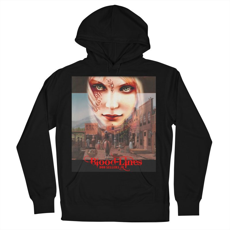 Blood-Lines Women's French Terry Pullover Hoody by sellersjr's Artist Shop
