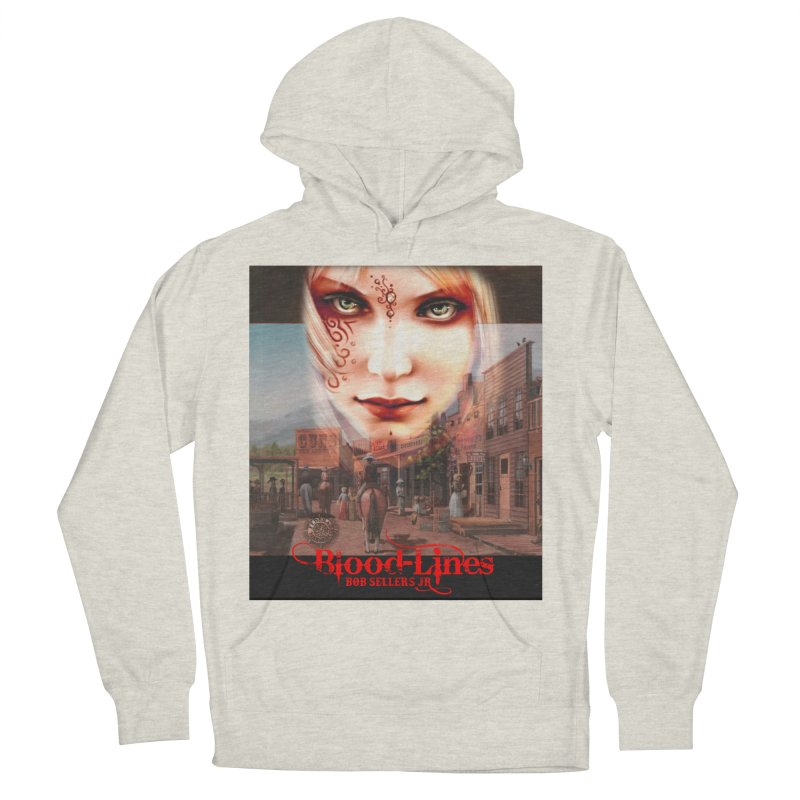 Blood-Lines Men's French Terry Pullover Hoody by sellersjr's Artist Shop