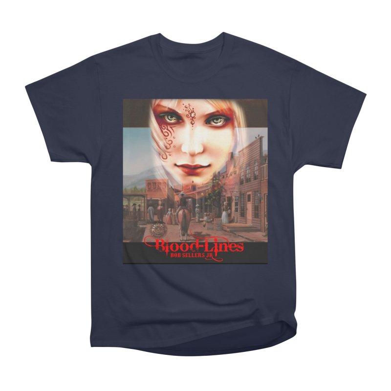 Blood-Lines Women's Heavyweight Unisex T-Shirt by sellersjr's Artist Shop